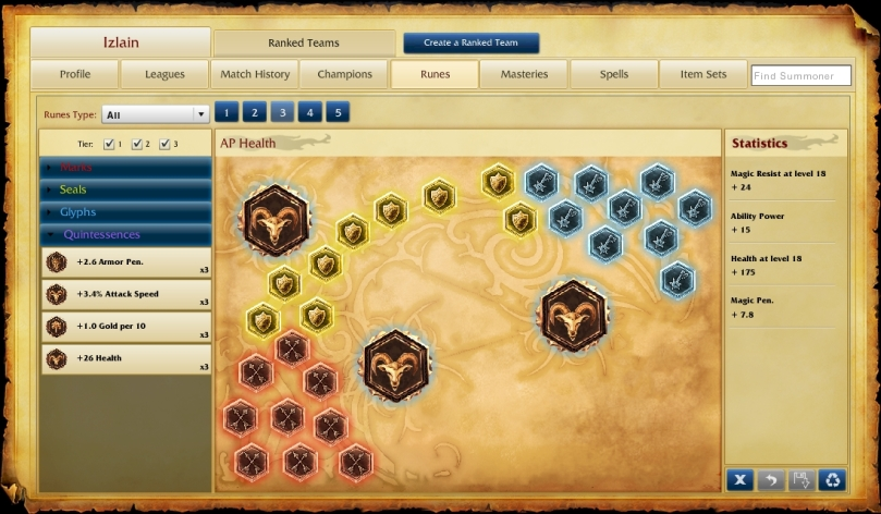 Ability Power and Health Runes