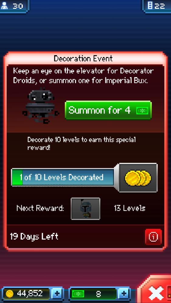 Tiny Death Star: The Bux Bug Fixed (2/2)
