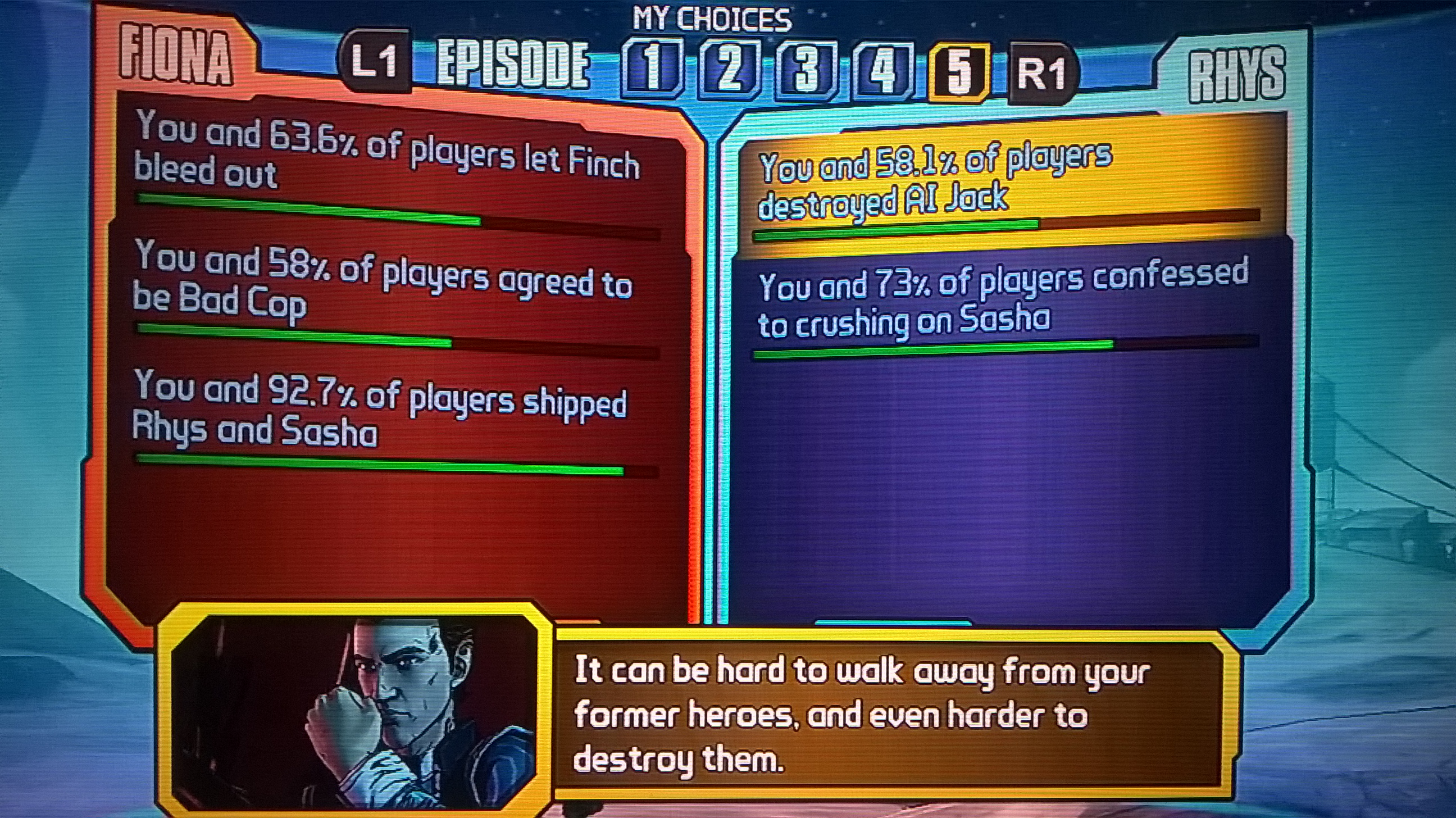 Tales From the Borderlands – Me Vs. Myself and I