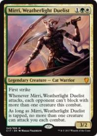 Mirri+Weatherlight+Duelist+C17