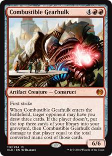 Combustible+Gearhulk+KLD