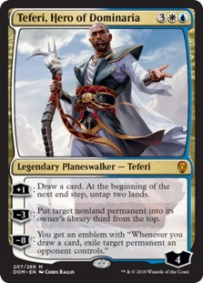 Teferi+Hero+of+Dominaria+DOM