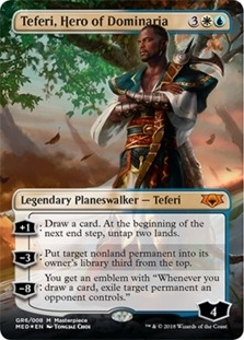 Teferi+Hero+of+Dominaria+MED-GRN