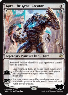 Karn+the+Great+Creator+WAR