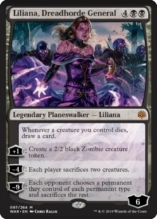 Liliana+Dreadhorde+General+WAR