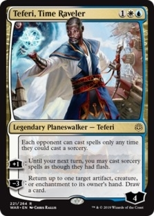 Teferi+Time+Raveler+WAR