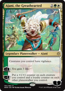 Ajani+the+Greathearted+WAR
