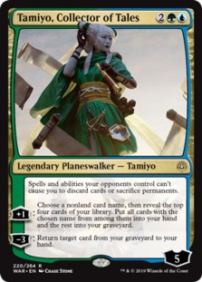 Tamiyo+Collector+of+Tales+WAR