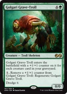 Golgari+Grave-Troll+UMA