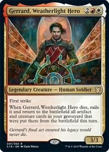 Gerrard+Weatherlight+Hero+C19