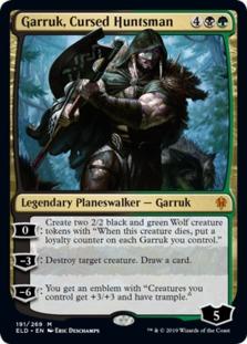 Garruk+Cursed+Huntsman+ELD