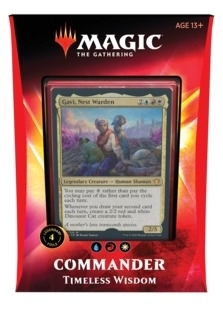 Commander+2020+Timeless+Wisdom+SEALED