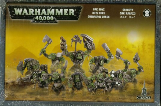 Warhammer 40k Space Orks Ork Boyz Boxed Set NEW