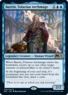 Barrin+Tolarian+Archmage+M21