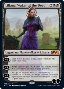 Liliana+Waker+of+the+Dead+M21